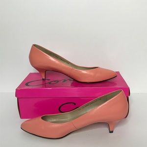 Connie Collection Heels Size 7 1/2 B Pointed Toe